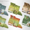 Illustrations et packagings CD digisleeve
