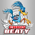 Logo Pilote moto - Chris Beaty