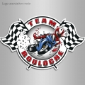 Logo association moto