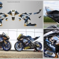 kit deco YAMAHA R6 2008-2016 2