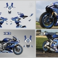 kit deco YAMAHA R6 2017-2020 1